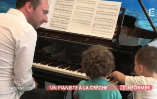 Cap Enfants pianiste crèche