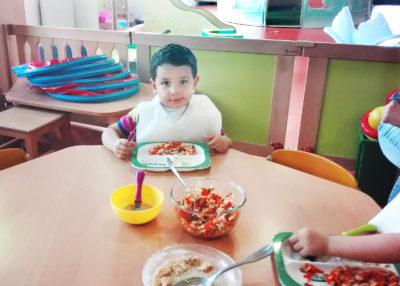 4 Cap Enfants Barbanniers Repas 2