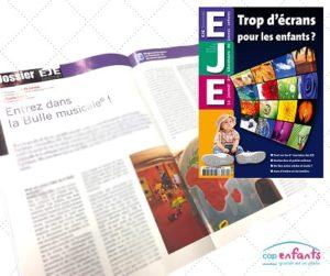 Cap Enfants Crèche Bulle Musicale® EJE Journal