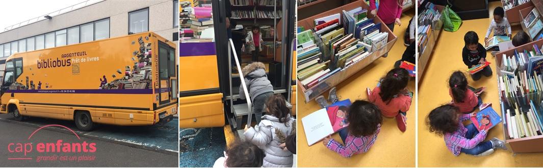 Cap Enfants Creche article Bibliobus