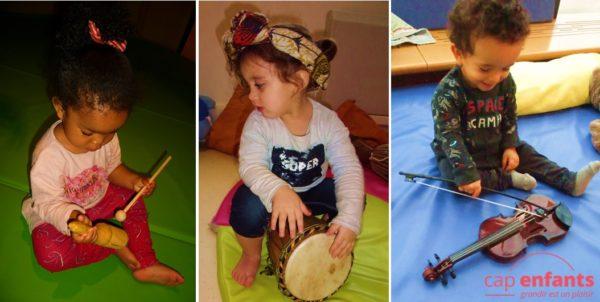 Cap Enfants creche jouets sonores