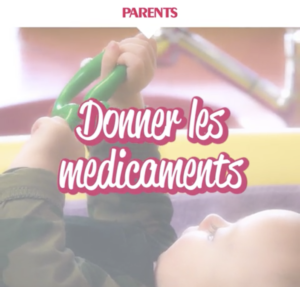 Creche Cap Enfants Video Parents medicaments