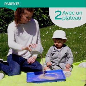 Cap Enfants article Jeux de sable parents