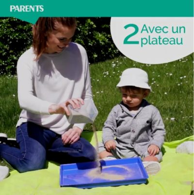 Cap Enfants article Jeux de sable parents